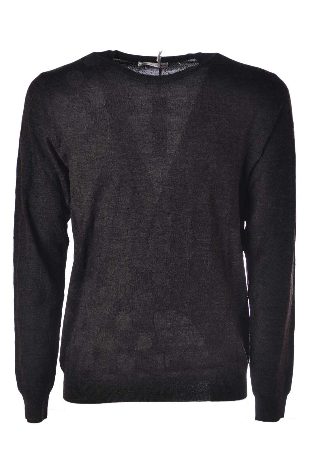 Daniele Alessandrini  -  Sweaters - Male - Grau - 4384112A184630