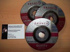 DRONCO Schruppscheibe/Schleifscheibe für Stahl 115x6mm für Winkelschleifer