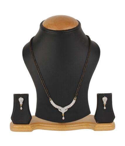 MS35 Daphne Zircon Clous Art mangalsutra Set pour femmes cadeau pour femme