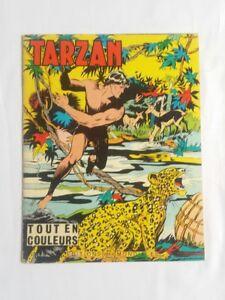 BD-Tarzan-n-10-Tout-en-couleurs-E-R-BURROUGHS-1964-ED-MONDIALES