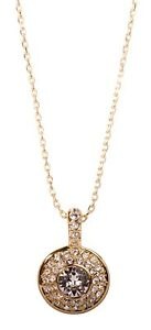 Swarovski-Elements-Crystal-Angelic-Pendant-Necklace-Gold-Plated-Authentic-7328v