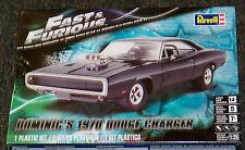 Revell Monogram Fast & Furious Dominic's 1970 Dodge Charger Model Kit 1/25