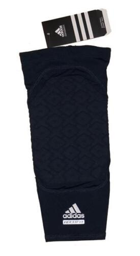 Navy NWT Adidas Techfit Men/'s Basketball Padded Compression Knee Sleeve