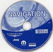 Chrysler/Jeep RB3 Navigation Sat Nav Disc. 2017 UK.