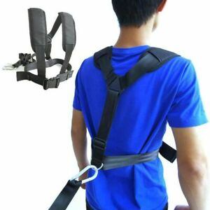 Sled Harness Tire Pulling Strap Fitness Resistance Training Workout Aid Belt