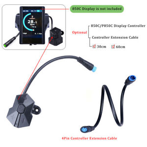 Electric Bike Bicycle 850C//P850C LCD Display Speedometer for Mid Motor USB Port
