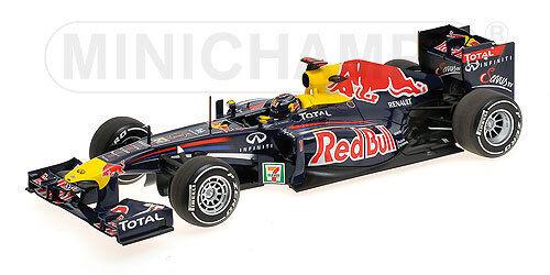 rojo Bull Renault RB7 S.Vettel GP Japan 2011 1 18 Minichamps 110110301 limited