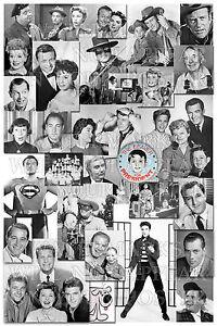 Details about 12x18 photo print poster 1950s television TV Baby Boomer  memorabilia nostalgia
