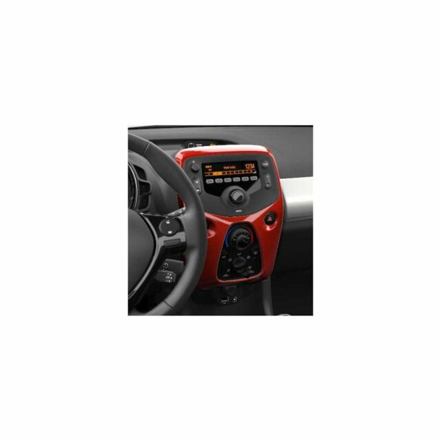 Genuine Toyota Aygo 2014- Centre Console aut aircon Red Pop - 55405-0H070-D0