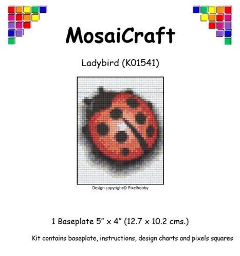 """Mosaicraft Pixel Craft Art Mosaïque Kit /""""Coccinelle/"""" pixelhobby"""