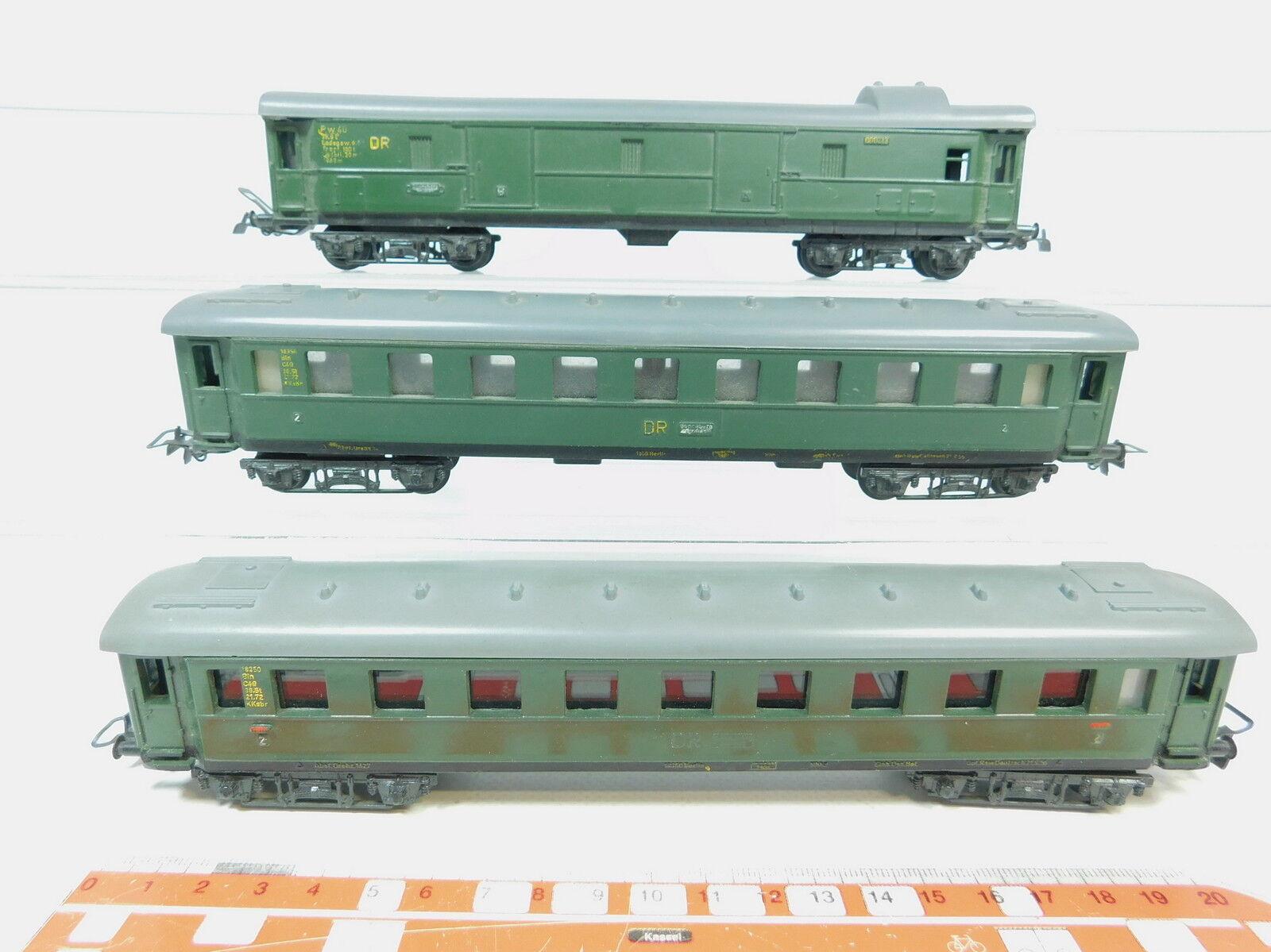Az371-1x Piko h0 dc Passenger Cars etc Dr  18350 bln + 000213 pw 4ü; VEB DDR