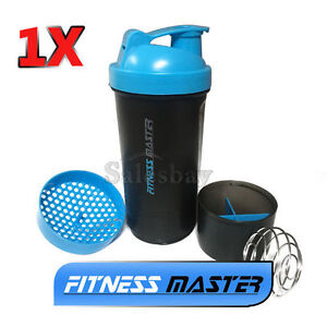 1X-3in1-GYM-Protein-Supplement-Drink-Blender-Mixer-Shaker-Shake-Ball-Bottle-Cup