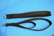 Pair and Bag Black AeroPilates Double Loop Straps