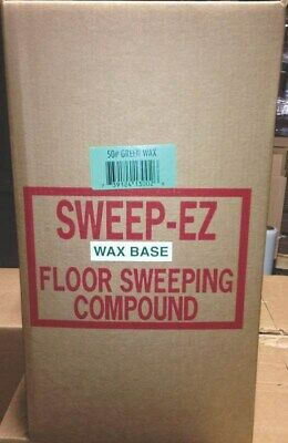 Wax Base Sweeping Compound No 3002 Sorb All Company