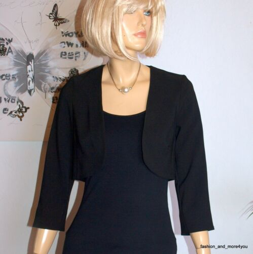 38 Blazer nero 074 elegante Blazer Nuovo Gr Cs Biba ஜ corto Nero Bolero fvEIWwq