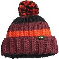 Men's Koppen Zugspitze Knit Wool Beanie Hat Ski Snowboard Chocolate Truffle