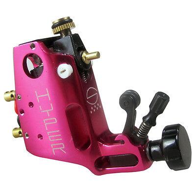 Aluminium CNC Rotary Tattoo Machine Gun Stigma Hyper V3 Shader Liner Rose Pink