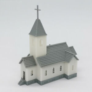Outland Models Railway Scenery Country Church 1:220 Z Gauge Scale