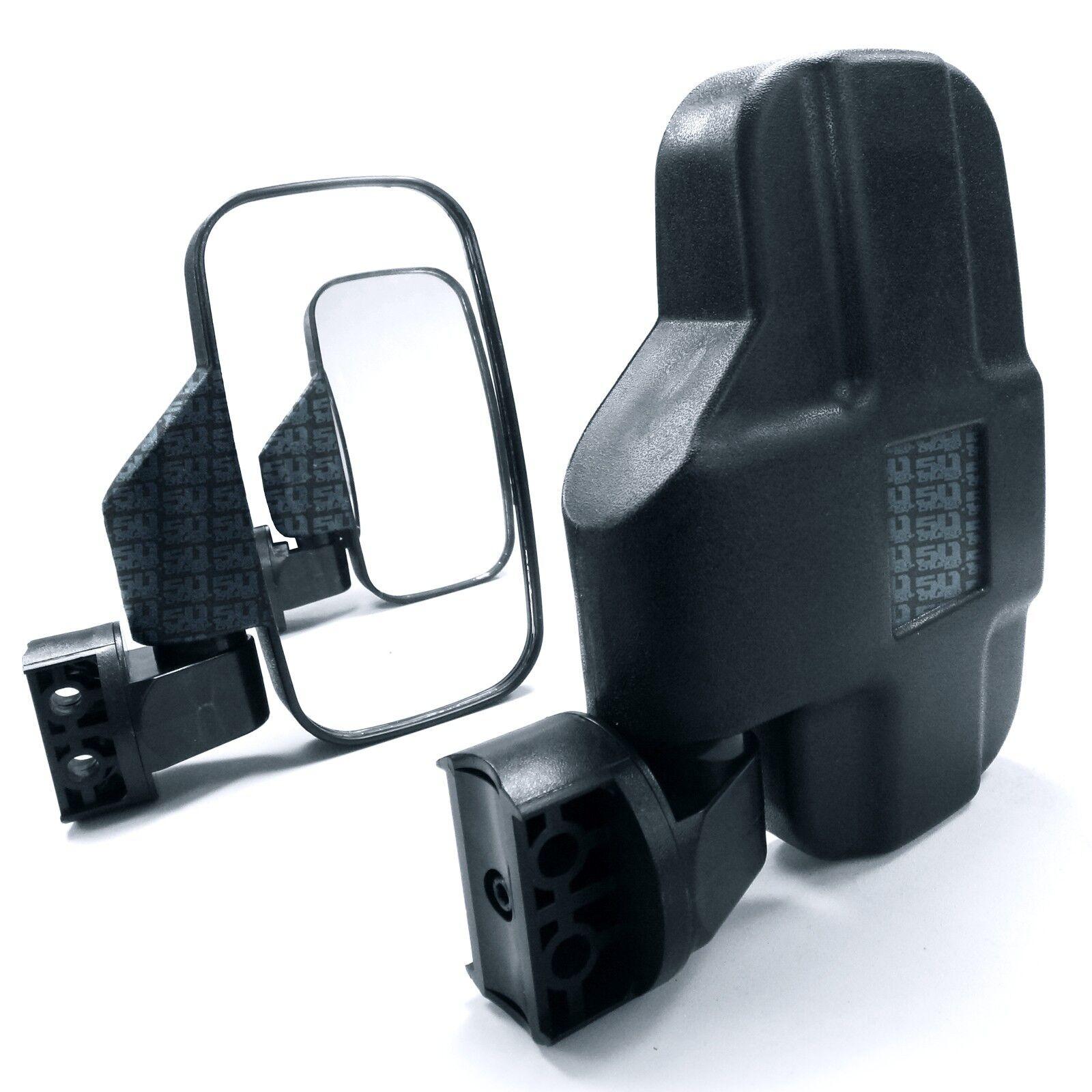 Driver & Passenger Side Breakaway Side View Mirrors fits Kubota RTV-X 900, 1120D