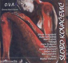 SLOBO KOVACEVIC 2 CD O.V.A. Omnia Vincit Amor 2014 Slobodan Rade Serbedzija Hit