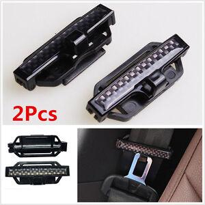 Car Seat Belt Safety Adjust Strap Clips Holder Tension