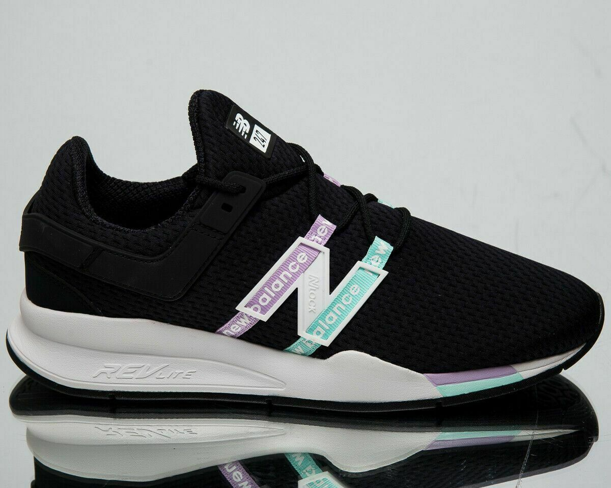 New Balance 247 Deconstructed Men's Black Lifestyle Shoes Casual Sneakers
