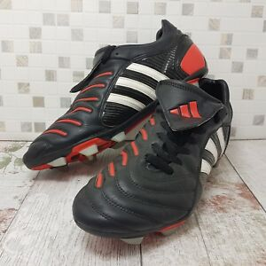 later cheapest price casual shoes Details about Adidas Predator Pulse Pulsado Mens Football Boots Size 8 TRX  Black EU 42 2004