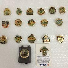 L.A. Dodgers Unocal 76 Pin Lot of 18 Pins @ 1955 1958 1959 1963 1965 1981 1988