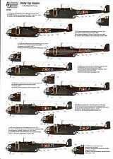 Authentic Decals 1/72 HANDLEY PAGE HAMPDEN British WWII Bomber
