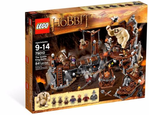 Lego The Hobbit 79010 The Goblin King Battle Brand New in Sealed Box