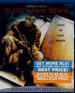 BRAND NEW BLU-RAY // BLACK HAWK DOWN // Josh Hartnett,  Ewan McGregor,  Tom Size