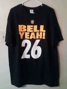 Le Veon Bell Pittsburgh Steelers Adult X-Large T-Shirt Non Jersey ... f87f0e219