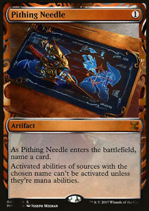 Aiguille-a-sectionner-PREMIUM-FOIL-Pithing-needle-Kaladesh-Invention-Mtg