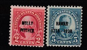FRANCOBOLLI-1927-28-USA-STATI-UNITI-ISOLE-HAWAII-MNH-Z-6241