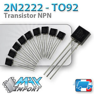 Transistor-2N2222A-Complement-PNP-2N2907-Lots-multiples-prix-degressif