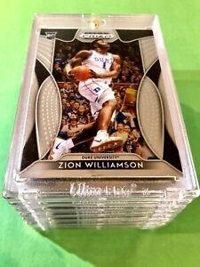 Zion-Williamson-2019-20-ROOKIE-CARD-PANINI-PRIZM-DRAFT-PICKS-RC-1-Mint