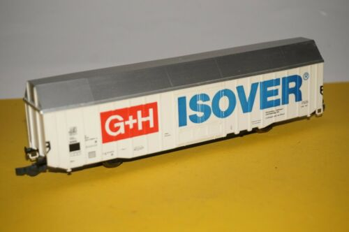 RF21//5 OVP Fleischmann H0 5335 Gedeckter Schiebewandwagen DB Gattung Hbis299 o