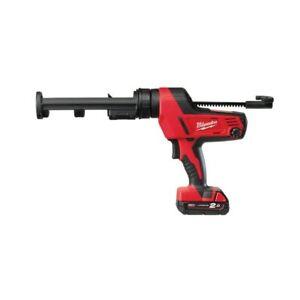 MILWAUKEE-M18-PCG-310C-201B-Pistolet-a-cartouche-a-Batterie-Avec-Piles