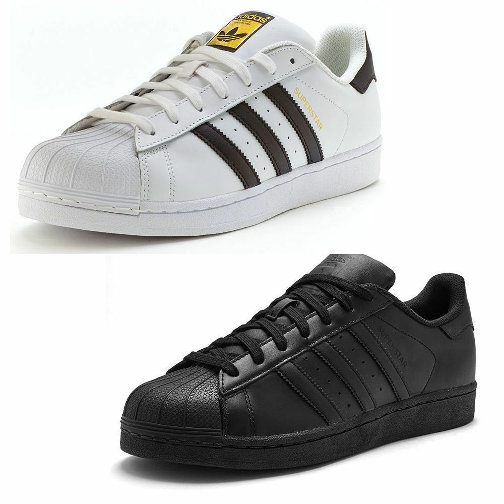 finest selection dc024 b4577 Adidas Superstar Foundation Foundation Foundation Hombre Trainers comodo y  atractivo 3caf0c