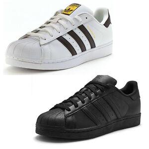 Dettagli su Adidas Superstar Sneaker Uomo Foundation mostra il titolo originale