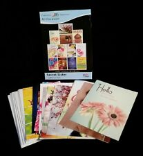 Secret Sister - KJV and NIV Scripture Greeting Cards - Boxed - All Occasion, 12
