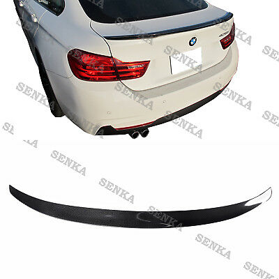 Carbon Fiber Rear Trunk Spoiler for 14-18 BMW 4 Series F36 Gran Coupe 4dr Type B