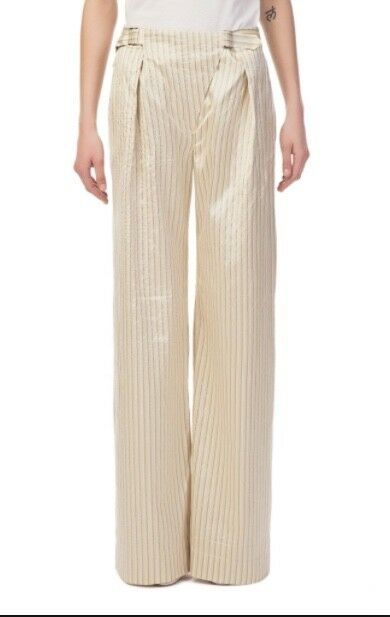Zimmermann Bowerbird Trouser   Multi Stripe   Wide Leg, High Waist Size 0,1,2,3