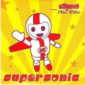 Billyweb-Maxi-CD-Supersonic-Promo-France-VG-M