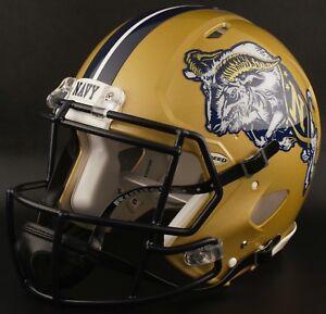 NAVY-MIDSHIPMEN-NCAA-Riddell-SPEED-Full-Size-Replica-Football-Helmet