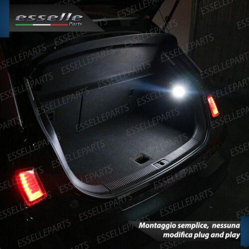SET PLAFONIERA COMPLETA A LED VW POLO AW1 VANO BAGAGLI 6000K BIANCO INTERNI