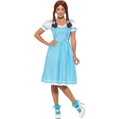 Ladies Kansas Country Girl Dorothy Adult Womens Fairytale Book Week Fancy Dress