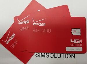 NEW-VERIZON-NANO-4FF-SIMCard-CDMA-4GLTE-Genuine-OEM-Prepaid-or-Contract