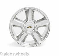 Chevy Silverado Tahoe Suburban Ltz 20 Polished Factory Replica Wheel Rim