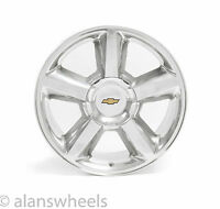 Chevy Silverado Tahoe Suburban Ltz 20 Polished Factory Replica Wheel Rim